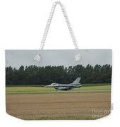 F-16 Of The Belgian Air Force Ready Weekender Tote Bag by Luc De Jaeger