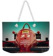 1985 Ferrari 156/85 F1 Nose Weekender Tote Bag
