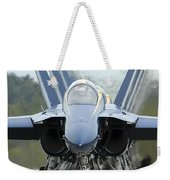 Fa-18a Hornets Assigned To The Blue Weekender Tote Bag