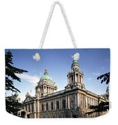 Facade Of A Government Building Weekender Tote Bag