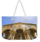 facade of Church of all Nations Jerusalem Weekender Tote Bag