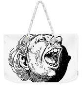 Face, 19th Century Weekender Tote Bag