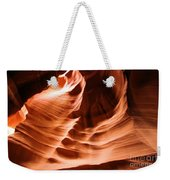 Face In The Canyon Weekender Tote Bag