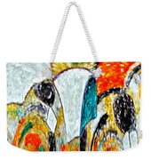 Faces Come Out Of The Rain ... Weekender Tote Bag