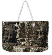 Faces Of Banyon Angkor Wat Cambodia Weekender Tote Bag