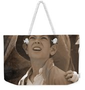 Faces Of War Weekender Tote Bag