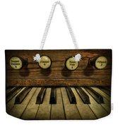 Facing The Music Weekender Tote Bag by Evelina Kremsdorf
