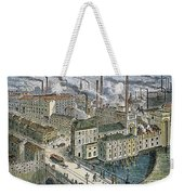 Factories: England, 1879 Weekender Tote Bag