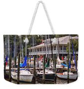 Fairhope Yacht Club Sailboat Masts Weekender Tote Bag
