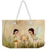 Fairies In The Garden Weekender Tote Bag