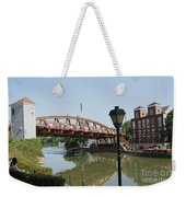 Fairport Lift Bridge Weekender Tote Bag
