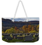 Fairview Cemetery In Autumn Weekender Tote Bag