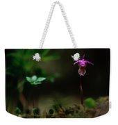 Fairy Slipper Orchid Calypso Bulbosa Weekender Tote Bag
