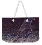 Faithful Raven Weekender Tote Bag