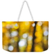 Fall Abstract Weekender Tote Bag by Elena Elisseeva