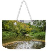 Fall At The Low Stream Weekender Tote Bag