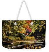 Fall At Tyler State Park Weekender Tote Bag