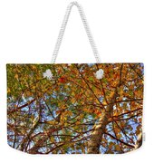 Fall Canopy Weekender Tote Bag