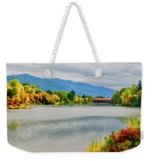 Fall Color At Sand Creek Weekender Tote Bag