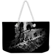 Fall Color In Black And White Weekender Tote Bag