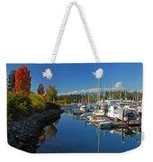 Fall Colors At English Bay Weekender Tote Bag