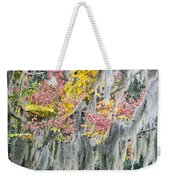 Fall Colors In Spanish Moss Weekender Tote Bag