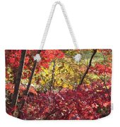 Fall Comes To New England Weekender Tote Bag