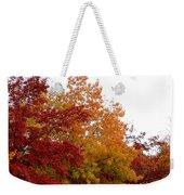 Fall Filled Sky Weekender Tote Bag