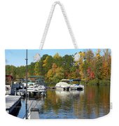 Fall Fishing Break Weekender Tote Bag