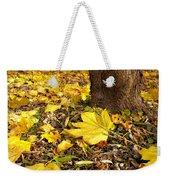 Fall Floor Weekender Tote Bag