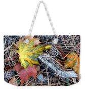Fall Forest Floor Weekender Tote Bag
