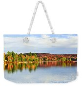 Fall Forest Reflections Weekender Tote Bag