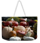 Fall Harvest Colorful Gourds 7965 Weekender Tote Bag