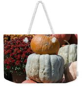 Fall Harvest Colorful Gourds 7968 Weekender Tote Bag