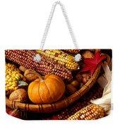 Fall Harvest Weekender Tote Bag