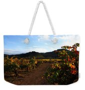 Fall In A Sonoma Vineyard Weekender Tote Bag