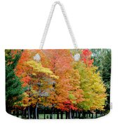 Fall In Michigan Weekender Tote Bag by Optical Playground By MP Ray