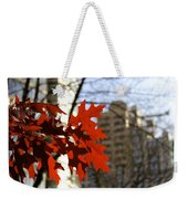 Fall In The City 2 Weekender Tote Bag