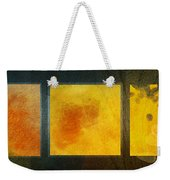Fall Into Winter Weekender Tote Bag