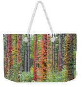 Fall Ivy On The Trees Weekender Tote Bag