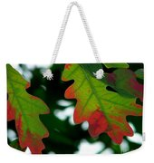 Fall L Eaves Weekender Tote Bag