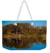 Fall Lake 4 Weekender Tote Bag