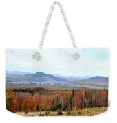 Fall Landscape Weekender Tote Bag