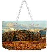 Fall Landscape-hdr Weekender Tote Bag