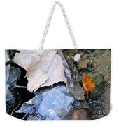 Fall Leaf Abstract Weekender Tote Bag