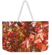Fall Leaves - Digital Art Weekender Tote Bag