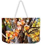 Fall Leaves 2 Weekender Tote Bag