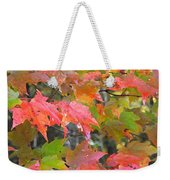 Fall Leaves Filtered Weekender Tote Bag