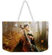 Fall Melody Weekender Tote Bag by Mary Hood