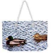 Fall Millards Swiming Weekender Tote Bag